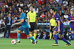 Isco in action during Supercopa de España game 1 between FC Barcelona against Real Madrid at Camp Nou