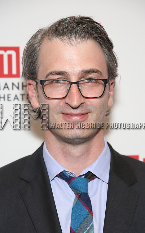 Daniel Aukin attends the Opening Night photo call for 'Fulfillment Center' at New York City Center – Stage II on June 20, 2017 in New York City.