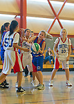 Foothill-Slam NJB  5th grade girls basketball at Blach City Gym, January 8, 2012..