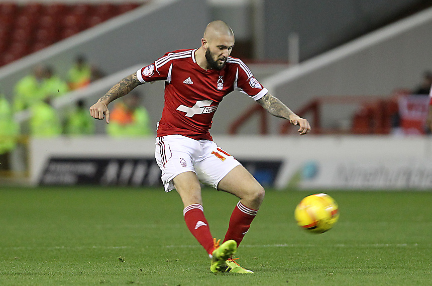 Nottingham Forest's Henri Lansbury<br />