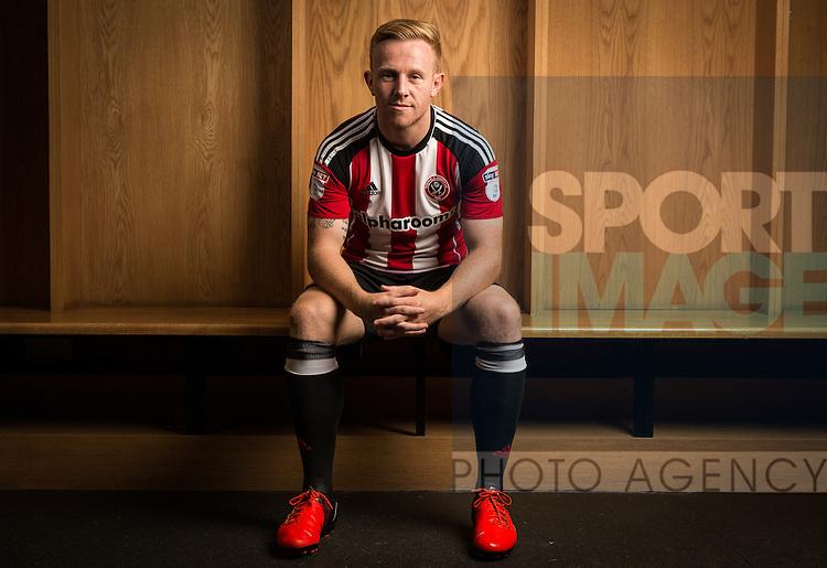 Mark Duffy of Sheffield Utd 10th September 2016