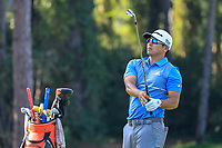 Kurt Kitayama (USA) during the third round of the Turkish Airlines Open, Montgomerie Maxx Royal Golf Club, Belek, Turkey. 09/11/2019<br /> Picture: Golffile | Phil INGLIS<br /> <br /> <br /> All photo usage must carry mandatory copyright credit (© Golffile | Phil INGLIS)