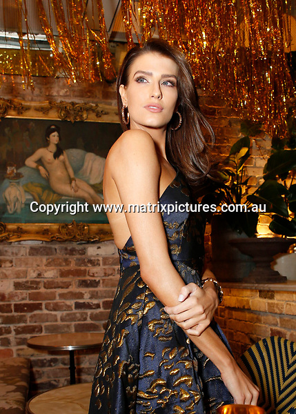 17 JUNE 2017 SYDNEY AUSTRALIA<br /> WWW.MATRIXPICTURES.COM.AU<br /> <br /> EXCLUSIVE PICTURES<br /> <br /> Mo&euml;t &amp; Chandon Mo&euml;t Party Day Gold Party at Coogee Bay Pavilion guest arrivals including Jesinta Franklin, Natalie Roser, Harley Bonner, Erin Holland, Tanja Gacic, Amy Pejkovic and Adam Tomlinson<br /> <br /> Note: All editorial images subject to the following: For editorial use only. Additional clearance required for commercial, wireless, internet or promotional use.Images may not be altered or modified. Matrix makes no representations or warranties regarding names, trademarks or logos appearing in the images.