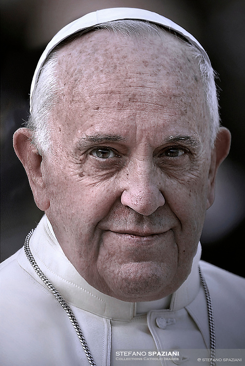 Pope Francis  during his weekly general audience in St. Peter square at the Vatican, Wednesday.September