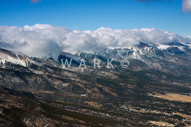 Sangre de Cristo Mountain Range near Gardner, Colorado. Jan 2013