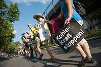 2014/08/08 Berlin | Protest gegen Braunkohletagebau