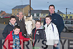 HORSES: Enjoying the Ballyheigue Races on Sunday were l-r: Jack and Ben Shortt (Tralee), Diarmuid Lawlor (Kilmoyley), Oisin O'Driscoll, Barry and Stephen Murphy (Tralee).   Copyright Kerry's Eye 2008