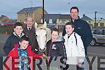 HORSES: Enjoying the Ballyheigue Races on Sunday were l-r: Jack and Ben Shortt (Tralee), Diarmuid Lawlor (Kilmoyley), Oisin O'Driscoll, Barry and Stephen Murphy (Tralee).   Copyright Kerry's Eye 2008