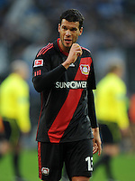 FUSSBALL   1. BUNDESLIGA   SAISON 2011/2012    10. SPIELTAG Bayer 04 Leverkusen - FC Schalke 04                        23.10.2011 Michael BALLACK (Leverkusen) ist nach dem Abpfiff enttaeuscht
