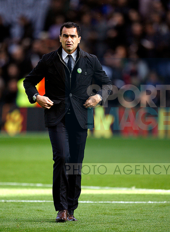 Roberto Martinez of Wigan Athletic
