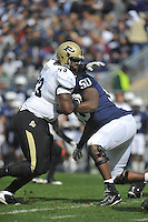 15 October 2011:  Purdue DT Kawann Short (93)..The Penn State Nittany Lions defeated the Purdue Boilermakers 23-18 at Beaver Stadium in State College, PA..