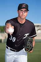 Kannapolis Intimidators pitcher Alec Hansen (30) poses for a photo prior to the game against the Asheville Tourists at Kannapolis Intimidators Stadium on May 8, 2017 in Kannapolis, North Carolina.  (Brian Westerholt/Four Seam Images)