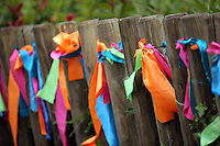 Pictured: Ribbons Saturday 13 August 2016<br />Re: Grow Wild event at  Furnace to Flowers site in Ebbw Vale, Wales, UK