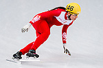 Patrycja Maliszewska of Poland compete during the Short Track Speed Skating as part of the 2014 Sochi Olympic Winter Games at Iceberg Skating Palace on February 10, 2014 in Sochi, Russia. Photo by Victor Fraile / Power Sport Images