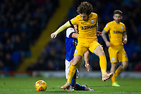 Ben Pearson of Preston North End loses out in the challenge to Jonas Knudsen of Ipswich Town during Ipswich Town vs Preston North End, Sky Bet EFL Championship Football at Portman Road on 3rd November 2018