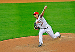 13 April 2009: Washington Nationals' pitcher Joe Beimel on the mound in relief against the Philadelphia Phillies during the Nats' Home Opener at Nationals Park in Washington, DC. The Nats fell short in their 9th inning rally, losing 9-8, and marking their 7th consecutive loss of the 2009 season. Mandatory Credit: Ed Wolfstein Photo