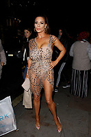 LONDON, ENGLAND - NOVEMBER 07 :  Linsey Dawn McKenzie attends The Paul Raymond Awards 2019, at the Cafe de Paris on November 07, 2019 in London, England.<br /> CAP/AH<br /> ©AH/Capital Pictures