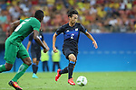 Sei Muroya (JPN), <br /> AUGUST 4, 2016 - Football / Soccer : <br /> Men's First Round Group B <br /> between Nigeria 5-4 Japan <br /> at Amazonia Arena <br /> during the Rio 2016 Olympic Games in Manaus, Brazil. <br /> (Photo by YUTAKA/AFLO SPORT)
