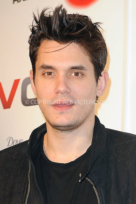WWW.ACEPIXS.COM . . . . . ....December 8 2009, New York City....Musician John Mayer arriving at the launch of VEVO, a new music and video website, at Skylight Studio on December 8, 2009 in New York City.....Please byline: KRISTIN CALLAHAN - ACEPIXS.COM.. . . . . . ..Ace Pictures, Inc:  ..tel: (212) 243 8787 or (646) 769 0430..e-mail: info@acepixs.com..web: http://www.acepixs.com