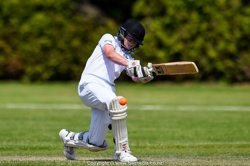 Medbury School v Hereworth School National Primary Cup boys' cricket tournament final at Lincoln Domain in Christchurch, New Zealand on Wednesday, 20 November 2019. Photo: John Davidson / bwmedia.co.nz