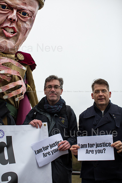 (From L to R) Matt Foot (Law and criminal defence solicitor and Justice Alliance member) &amp; Julian Hayes (Crime Family &amp; Sport Lawyer Partner Hayes Law Solicitors and Advocates LLP, Justice Alliance member). <br />