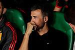 Spain's coach Luis Enrique Martinez during UEFA Nations League 2019 match between Spain and England at Benito Villamarin stadium in Sevilla, Spain. October 15, 2018. (ALTERPHOTOS/A. Perez Meca)