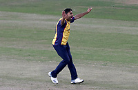 Ravi Bopara of Essex appeals for the wicket of Glenn Maxwell during Lancashire Lightning vs Essex Eagles, Vitality Blast T20 Cricket at the Emirates Riverside on 4th September 2019