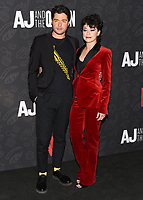 "10 January 2020 - Beverly Hills, California - Ben Lewis and Tatiana Maslany. Netflix's ""AJ And The Queen"" Season 1 Premiere at The Egyptian Theatre in Hollywood. Photo Credit: Billy Bennight/AdMedia"