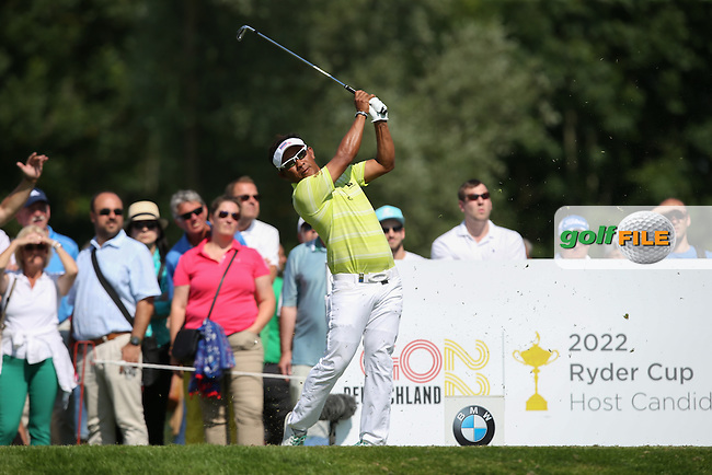 Thongchai Jaidee (THA)  makes his presence at the top of the leaderboard during Round Two of the 2015 BMW International Open at Golfclub Munchen Eichenried, Eichenried, Munich, Germany. 26/06/2015. Picture David Lloyd | www.golffile.ie