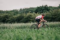 Tosh Van der Sande (BEL/Lotto Soudal)<br /> <br /> <br /> <br /> 2nd Elfstedenronde 2018<br /> 1 day race: Brugge - Brugge 196.3km