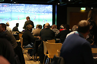 The Morfa lounge prior to kick off of the Premier League match between Swansea City and Leicester City at The Liberty Stadium, Swansea, Wales, UK. Saturday 21 October 2017