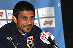 6 February 2007: US midfielder Pablo Mastroeni. The United States National Team held a press conference and practice at University of Phoenix Stadium in Glendale, Arizona prior to an International Friendly soccer match against Mexico to be held on Wednesday, February 7.