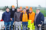 Andrew Finnegan, Jery Murphy Jerry Twomey, Jerry Kelliher, Shane Browne, Michael Murphy, Donie Shine and Denis McAulliffe at  the Brosna 4km run on Sunday