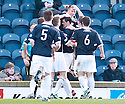 BRIAN GRAHAM CELEBRATES SCORING RAITH'S SECOND