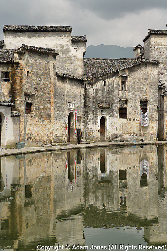 Half Moon Pond, Hong Cun Village, Yi County, China