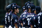 Japanese players during the BFA Women's Baseball Asian Cup match between Pakistan and Japan at Sai Tso Wan Recreation Ground on September 4, 2017 in Hong Kong. Photo by Marcio Rodrigo Machado / Power Sport Images