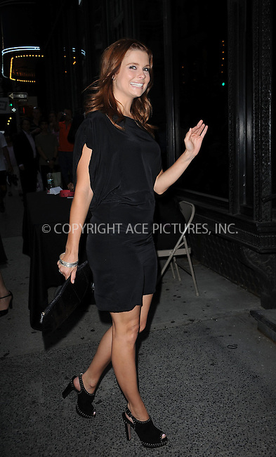 "WWW.ACEPIXS.COM . . . . . ....July 27 2009, New York City....Actress Joanna Garcia arriving at The Cinema Society & Brooks Brothers screening of ""Adam"" at AMC Loews 19th Street on July 28, 2009 in New York City.....Please byline: KRISTIN CALLAHAN - ACEPIXS.COM.. . . . . . ..Ace Pictures, Inc:  ..tel: (212) 243 8787 or (646) 769 0430..e-mail: info@acepixs.com..web: http://www.acepixs.com"