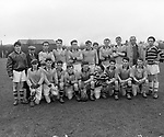 An old football team in the 1950's..Picture by Donal MacMonagle