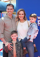 LOS ANGELES, CA - MARCH 10: Adam Gregory, Sheridan Gregory, at the premiere of Paramount Animation and Nickelodeon's Wonder Park at the Regency Village Theatre in Westwood, California on March 10, 2019. <br /> CAP/MPIFS<br /> &copy;MPIFS/Capital Pictures