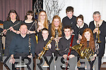 The Kerry School of Music brass ensemble who performed at the 30th anniversary gala concert in the Malton Hotel Killarney on Sunday night front row l-r: David Rath Tralee, Tomas Hayes Castlemaine, Maurice Treacy Ballyduff, Caoimhe Glavin Tralee. Back row: Carmel McElroy Ballymac, Amy Qejvani Tralee, Deirdre Fallon Tralee, Grainne O'Carroll Tralee, James Flavin Killarney, Sarah Tracey Ballyduff and Marguerite Wallis Tralee..