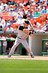 30 June 2005: Nate McClouth, rookie outfielder for the Pittsburgh Pirates, at bat during a game against the Washington Nationals. The Nationals defeated the Pirates 7-5 to sweep the 3-game series at RFK Stadium in Washington, DC.  Mandatory Photo Credit: Ed Wolfstein
