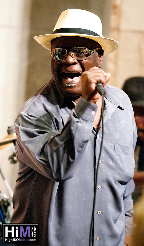 C. P. Love performing at the Ogden Museum in New Orleans, LA.