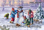 Marcello, CHRISTMAS SANTA, SNOWMAN, WEIHNACHTSMÄNNER, SCHNEEMÄNNER, PAPÁ NOEL, MUÑECOS DE NIEVE, paintings+++++,ITMCXM1907,#X#