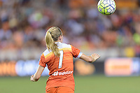 Kealia Ohai (7) of the Houston Dash waits for the ball against the Orlando Pride on Friday, May 20, 2016 at BBVA Compass Stadium in Houston Texas. The Orlando Pride defeated the Houston Dash 1-0.