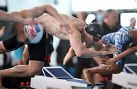 Malcom Richardson, 50m Breast. Swimming New Zealand National Short Course Championships, National Aquatic Centre, New Zealand, Wednesday 3rd October 2018. Photo: Simon Watts/www.bwmedia.co.nz