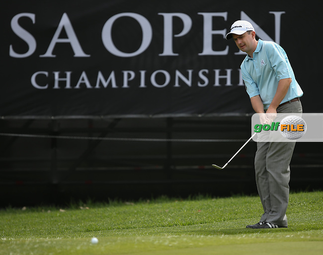 Peter Lawrie (IRL) during the practice day at the SA Open Championship 2013 at the Glendower Golf Club, Johannesburg, South Africa. Picture:  David Lloyd / www.golffile.ie