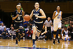 01 February 2016: Notre Dame's Marina Mabrey (3). The Duke University Blue Devils hosted the University of Notre Dame Fighting Irish at Cameron Indoor Stadium in Durham, North Carolina in a 2015-16 NCAA Division I Women's Basketball game. Notre Dame won the game 68-61.