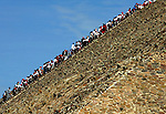 TEOTIHUACAN, MEXICO - OCTOBER 14: People from all over the world climb up the Pyramid of the Sun on October 14, 2002 in Teotihuacan, Mexico (Photo by Donald Miralle)