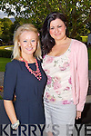 Aileen Dowling, Michelle Dowling, Tralee pictured at a concert by Jerry Fish and friends a Fundraiser for the Niall Mellon South African Township at the Ballygarry House Hotel on Sunday.