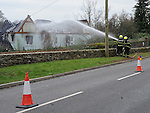 Scene of a house fire at Castle Cosy, Annagassan road castlebellingham. Photo: Colin Bell/pressphotos.ie